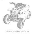 ATV 50 CC