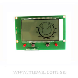 DISPLAY FOR IONIZER